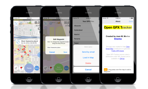 Iphone Gps Tracker >> Gps Tracker For Ios Open Gpx Tracker No Ads No In App Purchases
